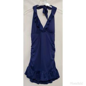 Jaclyn Smith Blue Dress Swim Suit #312